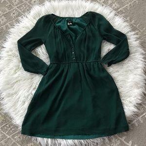 Green Jcrew Dress (Size 00)